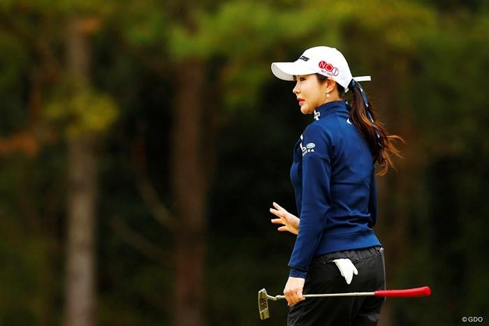 今シーズンは「日本ツアーを優先的に」というアン・シネ 2019年 アクサレディスゴルフトーナメント in MIYAZAKI 2日目 アン・シネ