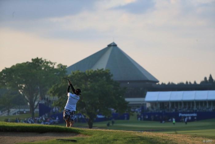 18番バックショット 2019年 パナソニックオープンレディースゴルフトーナメント 最終日 笠りつ子