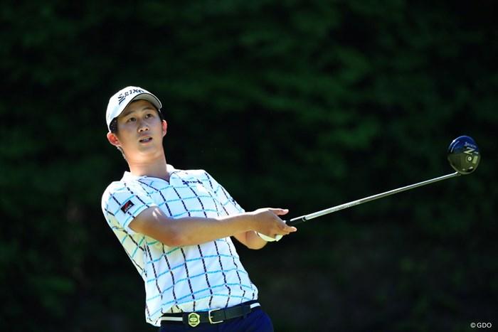 飛ばし屋さんは4位発進 2019年 関西オープンゴルフ選手権競技 初日 星野陸也