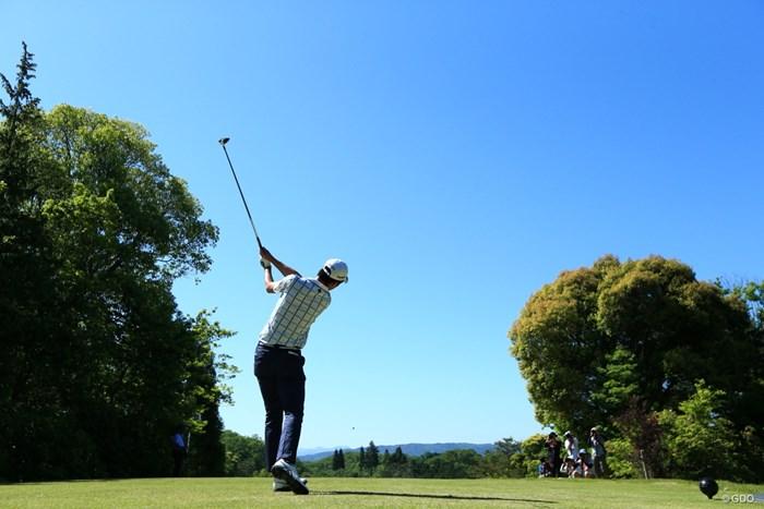 てっぺん盛り 2019年 関西オープンゴルフ選手権競技 初日 星野陸也