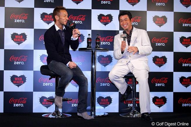 トークショーを行った池田勇太と元サッカー