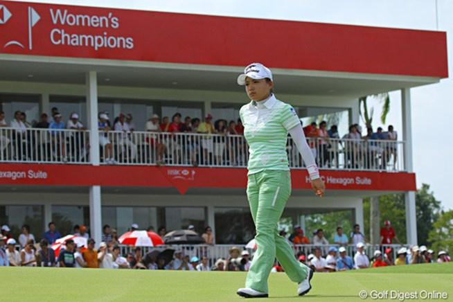 有村智恵 2011年 HSBC女子チャンピオンズ
