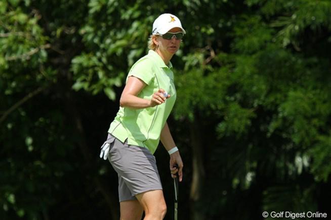 カリー・ウェブ 2011年 HSBC女子チャンピオンズ