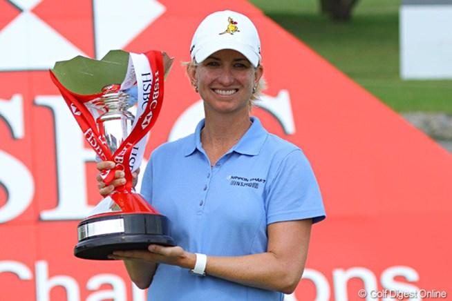 2011年 HSBC女子チャンピオンズ 最終日 カリー・ウェブ