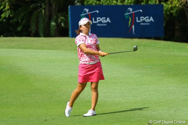 宮里美香は次週、地元・沖縄で攻めるゴルフ