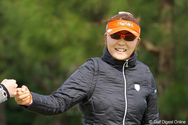 2011年 ダイキンオーキッドレディスゴルフトーナメント 初日 藤田幸希