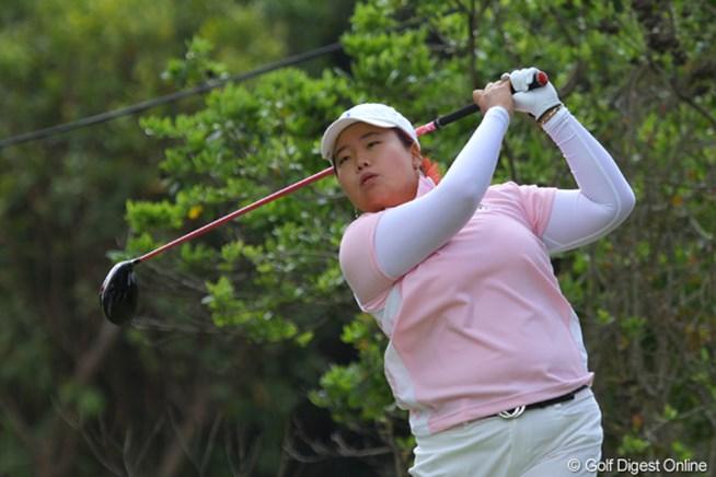 2011年 ダイキンオーキッドレディスゴルフトーナメント 初日 アン・ソンジュ