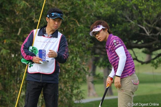 2011年 ダイキンオーキッドレディスゴルフトーナメント 初日 穴井詩