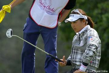 2011年 ダイキンオーキッドレディスゴルフトーナメント 初日 有村智恵