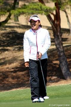 2011年 ヨコハマタイヤゴルフトーナメント PRGRレディスカップ 事前 有村智恵