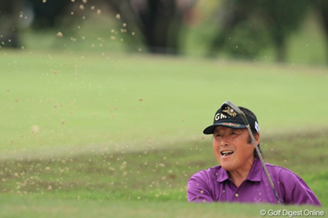 現在64歳の尾崎将司。過去5度の優勝を誇