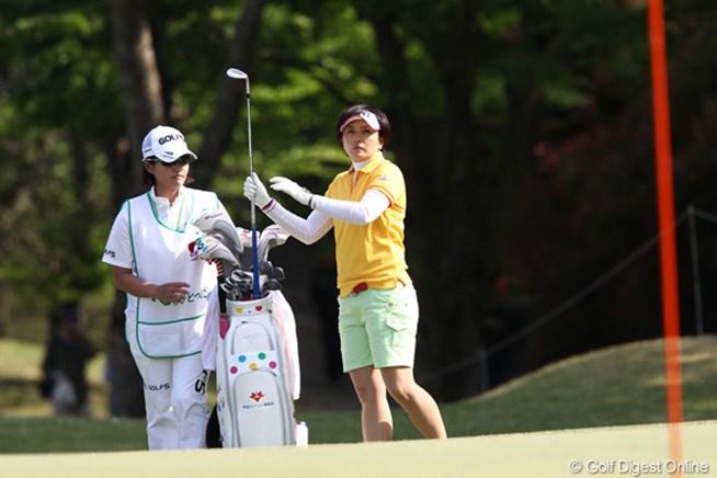 2011年 サイバーエージェントレディスゴルフトーナメント 初日 茂木宏美