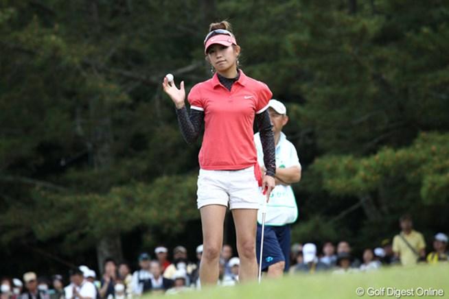 2011年 サイバーエージェントレディスゴルフトーナメント 初日 金田久美子