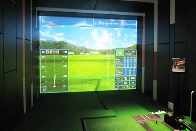GOLFZONのシミュレーションゴルフは