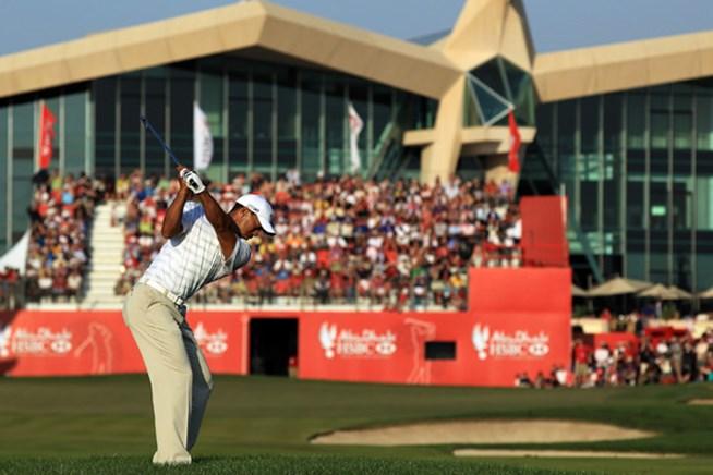 2012年 アブダビHSBCゴルフ選手権 2日目 タイガー・ウッズ