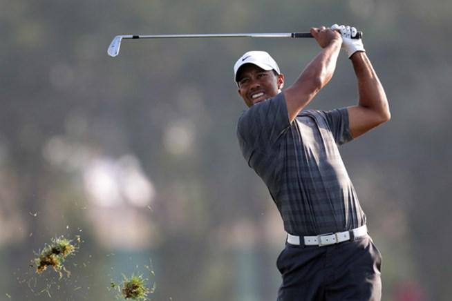 2012年 アブダビHSBCゴルフ選手権 3日目 タイガー・ウッズ