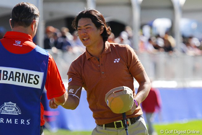 2012年 ファーマーズ・インシュランスオープン3日目 石川遼