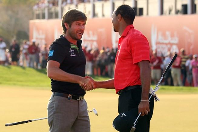 2012年 HSBCゴルフ選手権 最終日 ロバート・ロック&タイガー・ウッズ