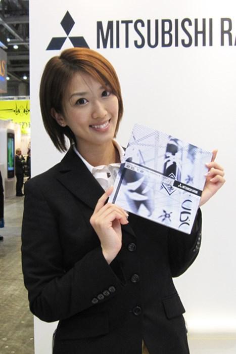 「三菱レイヨン」のコンパニオン コンパニオンガール特集 ジャパンゴルフフェア2012 NO.5