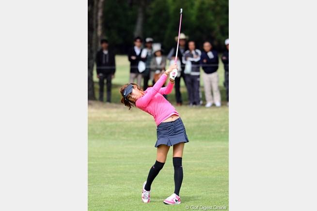 金田久美子は追撃及ばず3位タイ。ミスによ