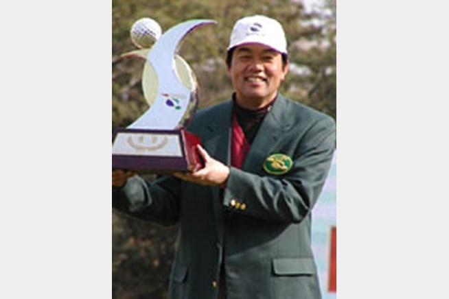 2002年 ダイドードリンコ静岡オープンゴルフトーナメント 最終日 室田淳