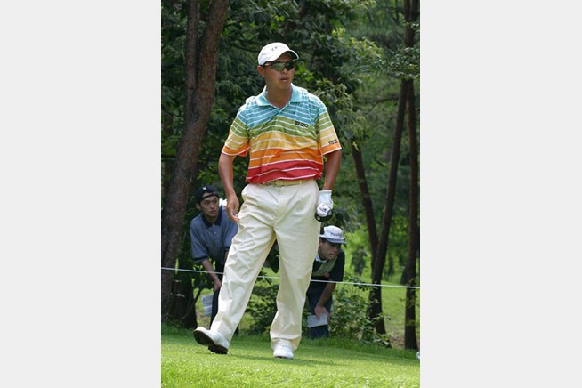 2002年 日本ゴルフツアー選手権イーヤマカップ 初日 谷口徹