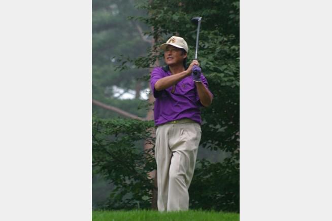 2002年 日本ゴルフツアー選手権イーヤマカップ 2日目 尾崎将司