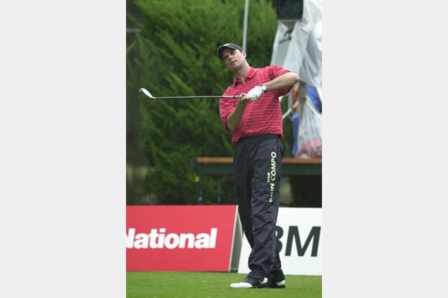 2002年 日本オープンゴルフ選手権競技 3日目 デビッド・スメイル