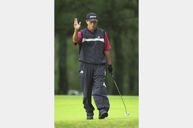 2002年 日本オープンゴルフ選手権競技 3日目 佐藤信人