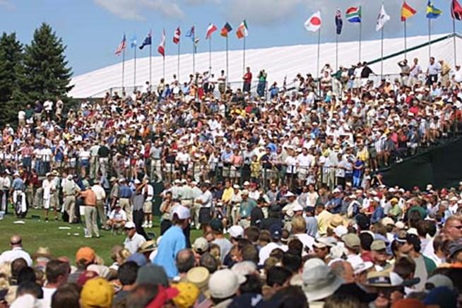 2002年 全米プロゴルフ選手権 事前情報 会場風景