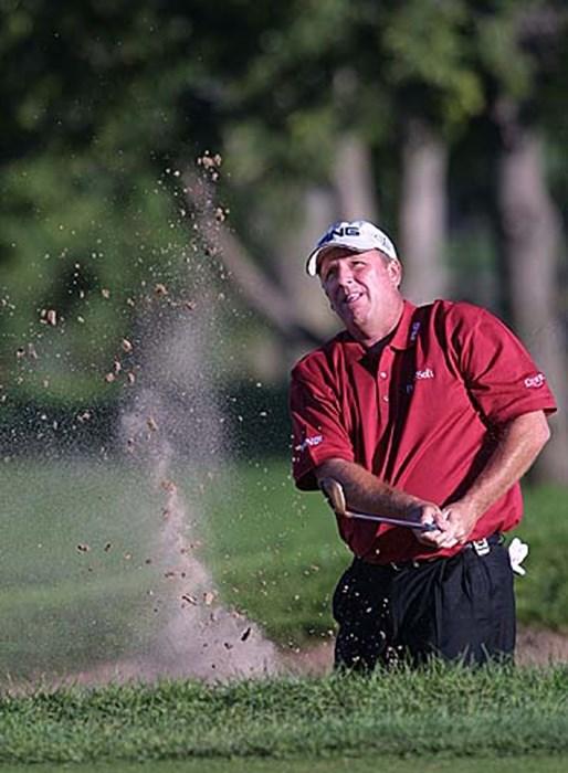 まだまだ優勝圏内。大ベテラン、復活なるか? 2002年 全米プロゴルフ選手権 3日目 マーク・カルカベッキア