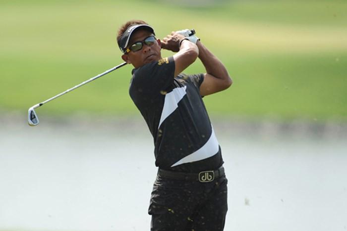 タイゴルフの象徴、トンチャイ・ジェイディ。今大会を見ても、タイゴルフ界の盛り上がりが分かる。(提供:アジアンツアー) 2012年 タイランド選手権 トンチャイ・ジェイディ