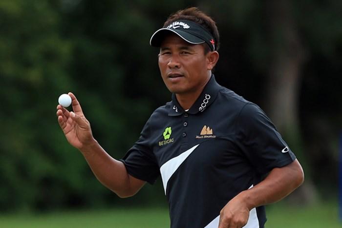 アジアを代表するプレーヤーが地元南アのタレントを抑えてロケットスタートに成功した。(Richard Heathcote/Getty Images) 2013年 ボルボゴルフチャンピオンズ 初日 トンチャイ・ジェイディ