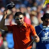 昨年、ツアー2年目のK.スタンリーが、大敗をバネに大逆転劇を披露した。今年もドラマティックな展開が見られるのか!?※写真は2012年 ファーマーズ・インシュランスオープン3日目(Donald Miralle/Getty Images) 佐渡充高が簡単解説!PGAツアー選手名鑑【第六十二回】