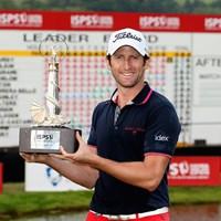 最終日にバーディラッシュを決めて逆転優勝を果たしたグレゴリー・ボーディ(Andrew Redington/Getty Images) 2013年 ISPSハンダ・ウェールズ・オープン 最終日 グレゴリー・ボーディ